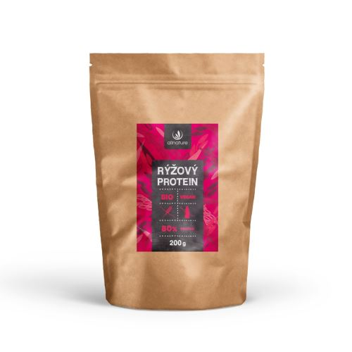 Allnature Rice Protein 80% Organic 200 g