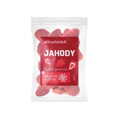Allnature Jahoda sušená mrazem celá 20 g