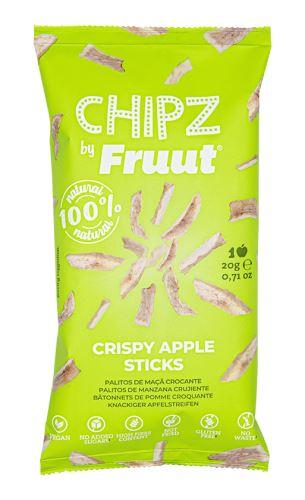 Fruut Sušené jablečné křupavé kousky (zelené jablko) 20 g