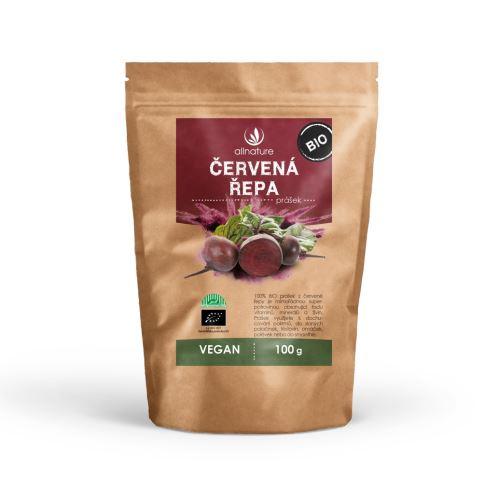 Allnature Red Beet Root Powder Organic 100 g