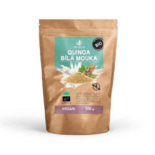 Allnature Organic White Quinoa Flour 200 g