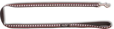 Vodítko pro psa nylonové - černé se vzorem lebka - 2 x 150 cm