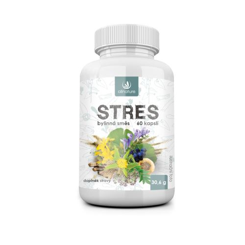 Allnature Stress Herbal Extract 60 cps.