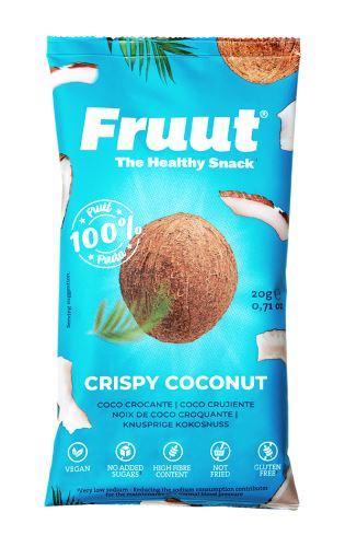 Fruut Sušené kokosové křupavé plátky 20 g
