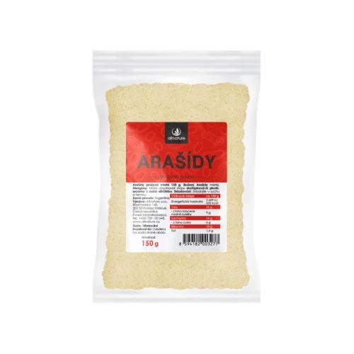 Allnature Arašídy mleté 150 g
