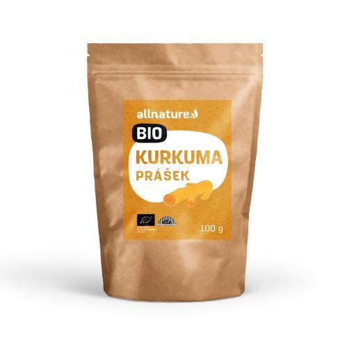 Allnature Turmeric Powder Organic 100 g