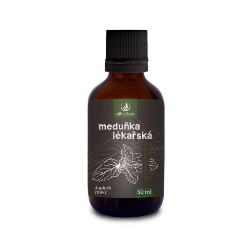 Allnature Meduňka lékařské bylinné kapky 50 ml
