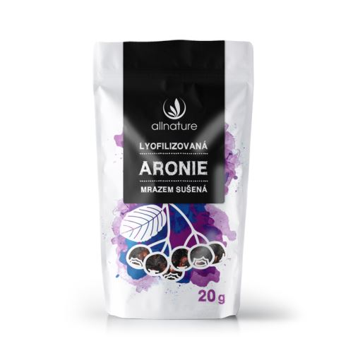 Allnature Freeze Dried Whole Aronia 20 g