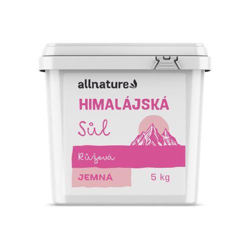 Allnature Himalájská sůl růžová jemná 5 kg
