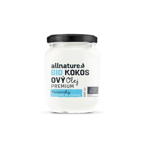 Allnature Organic virgin coconut oil 200 ml