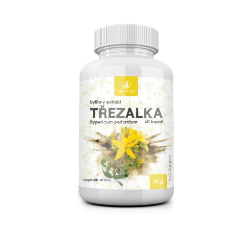 Allnature Třezalka bylinný extrakt 60 cps.