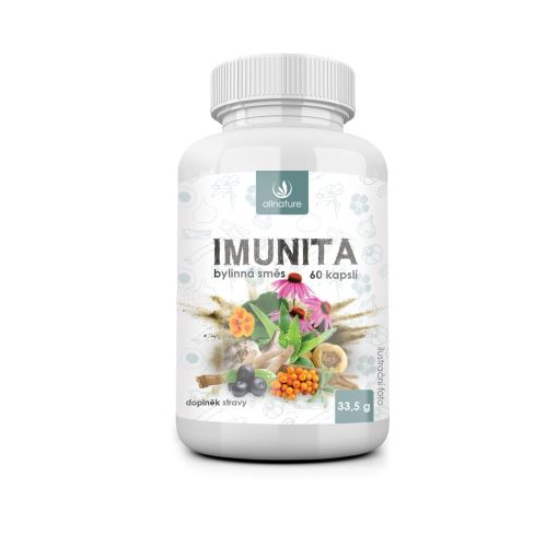 Allnature Imunita bylinný extrakt 60 cps.