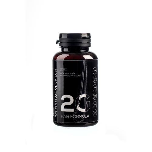 Allnature Hair formula 2G - doplněk stravy pro posílení vlasů a vlasových kořínků 60 tbl.