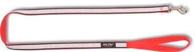 Vodítko pro psa nylonové reflexní - červené - 2 x 150 cm