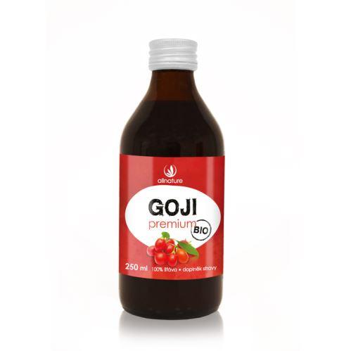 Allnature Goji - Kustovnice čínská Premium BIO 250 ml