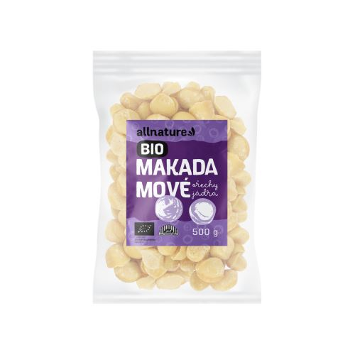 Allnature Makadamové ořechy BIO 500 g