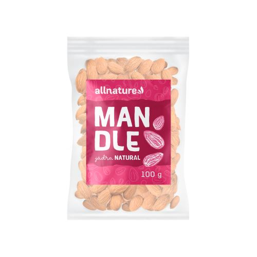 Allnature Mandle jádra 100 g