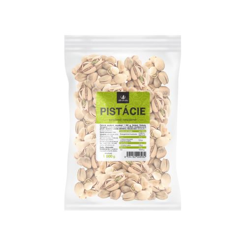 Allnature Roasted Pistachios Unsalted 1000 g