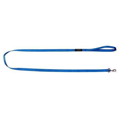 Vodítko pro psa nylonové - modré - 1,5 x 150 cm