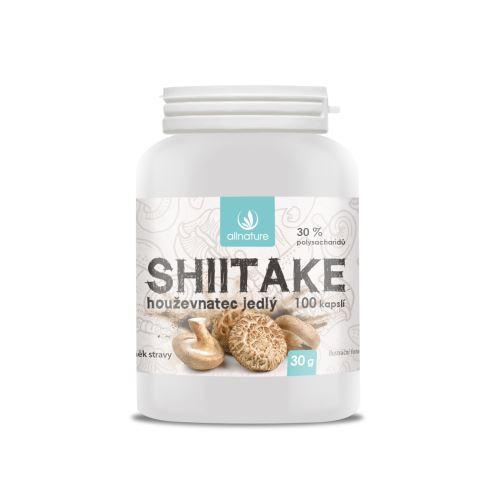 Allnature Shiitake 100 cps.