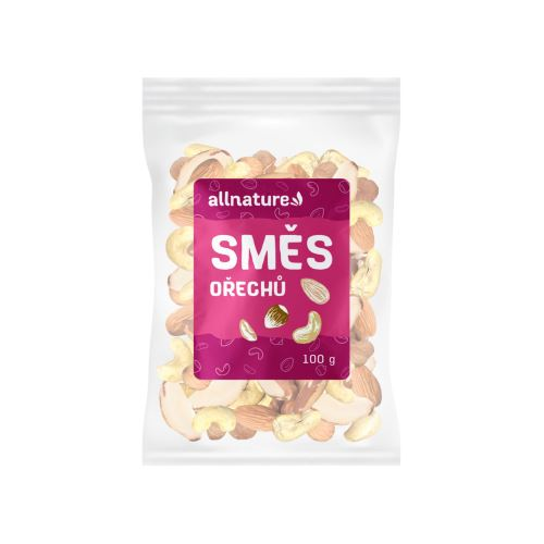 Allnature Mixed kernels (almonds, hazelnuts, cashew nuts, Brazil nuts) 100 g