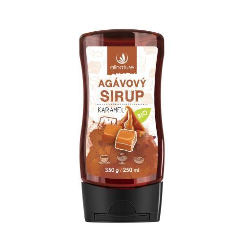 Organic Agave Syrup Caramel 350 g