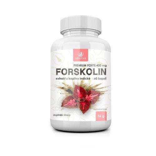 Allnature Forskolin Premium Forte 400 mg 60 caps