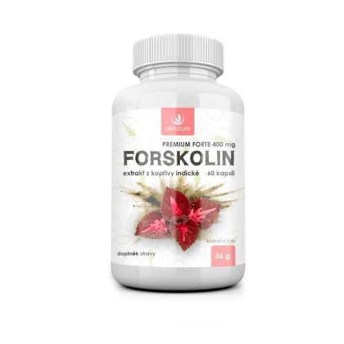 Allnature Forskolin Premium forte 400 mg 60 kapslí