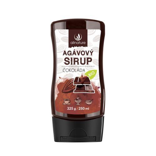 Allnature Organic Agave Syrup Chocolate 350 g