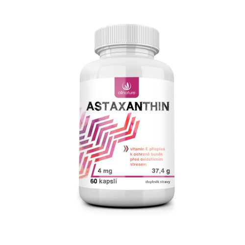 Allnature Astaxanthin 60 cps.