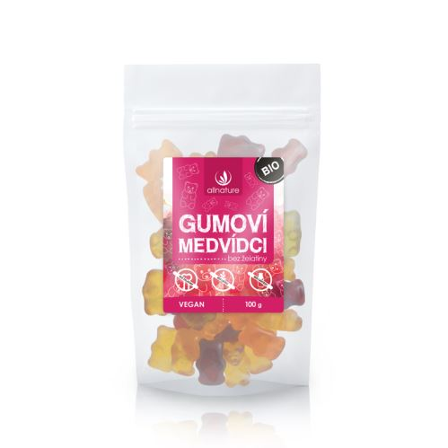 Allnature Gummy Bears without gelatine Organic 100 g