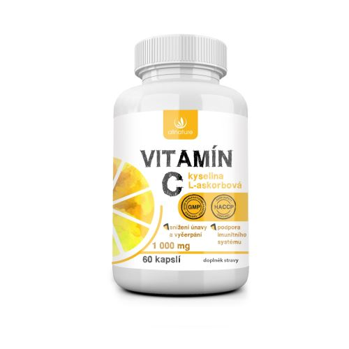 Allnature Vitamín C 1000 mg 60 cps.