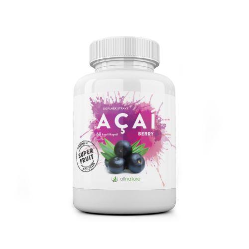 Allnature Acai berry kapsle 60 cps