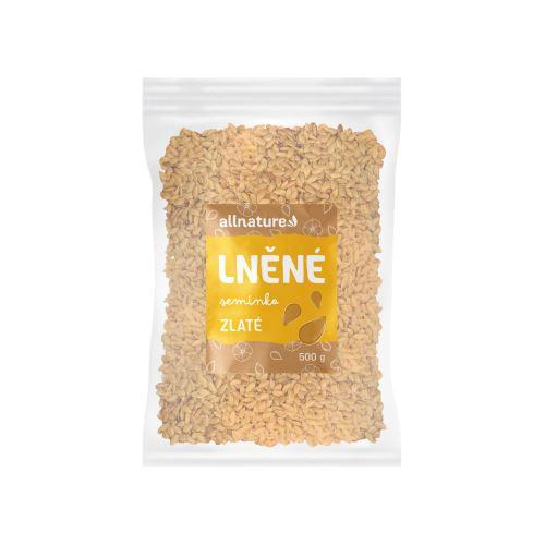 Allnature Lněné semínko zlaté 500 g