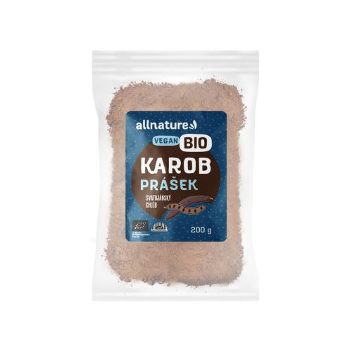 Allnature Carob Powder Organic 200 g