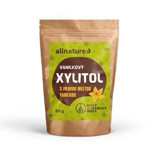 Allnature Xylitol s mletou vanilkou 50 g