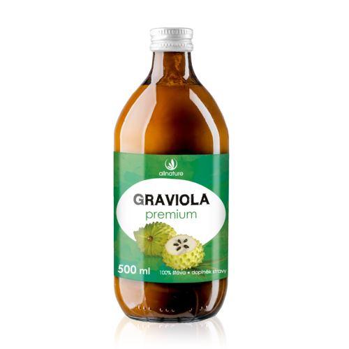 Allnature Graviola Premium 100% Juice  500 ml
