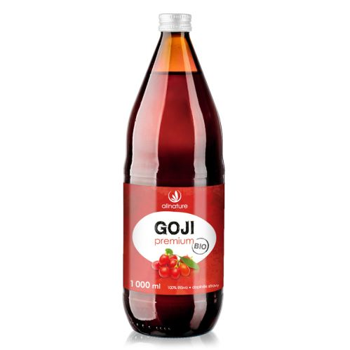 Allnature Organic Goji Berry 100% Juice 250 ml