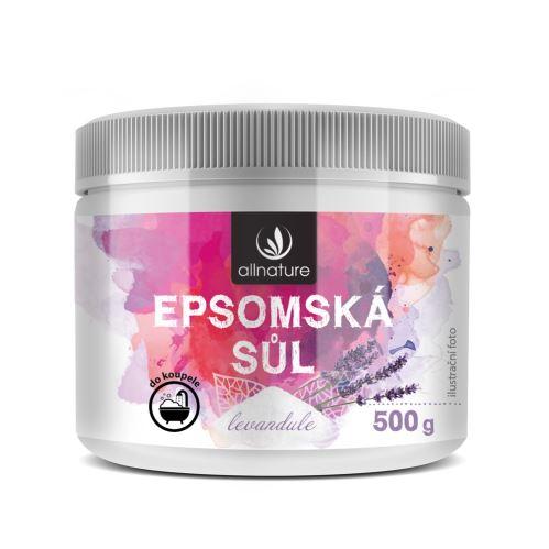 Allnature Epsom Salt Lavender 500 g