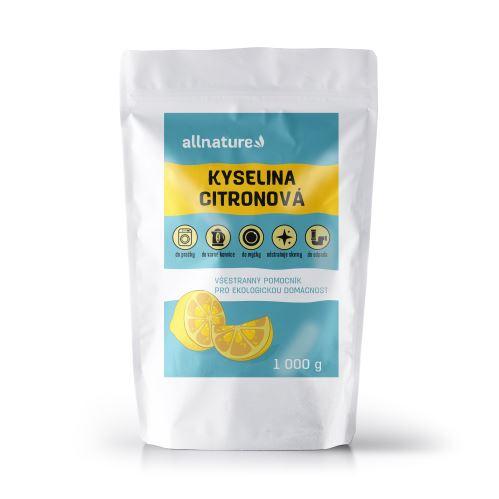 Allnature Kyselina citronová 1000 g