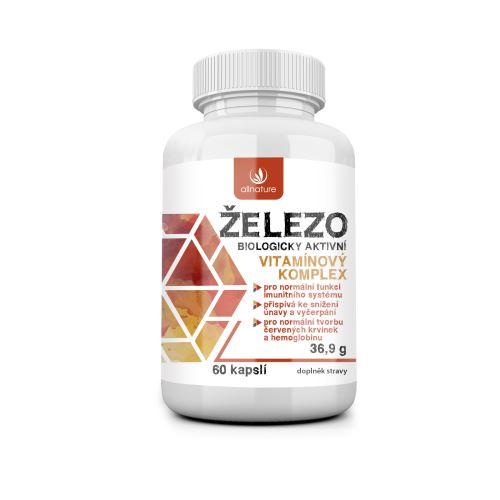 Allnature Iron - vitamin complex 60 cps.